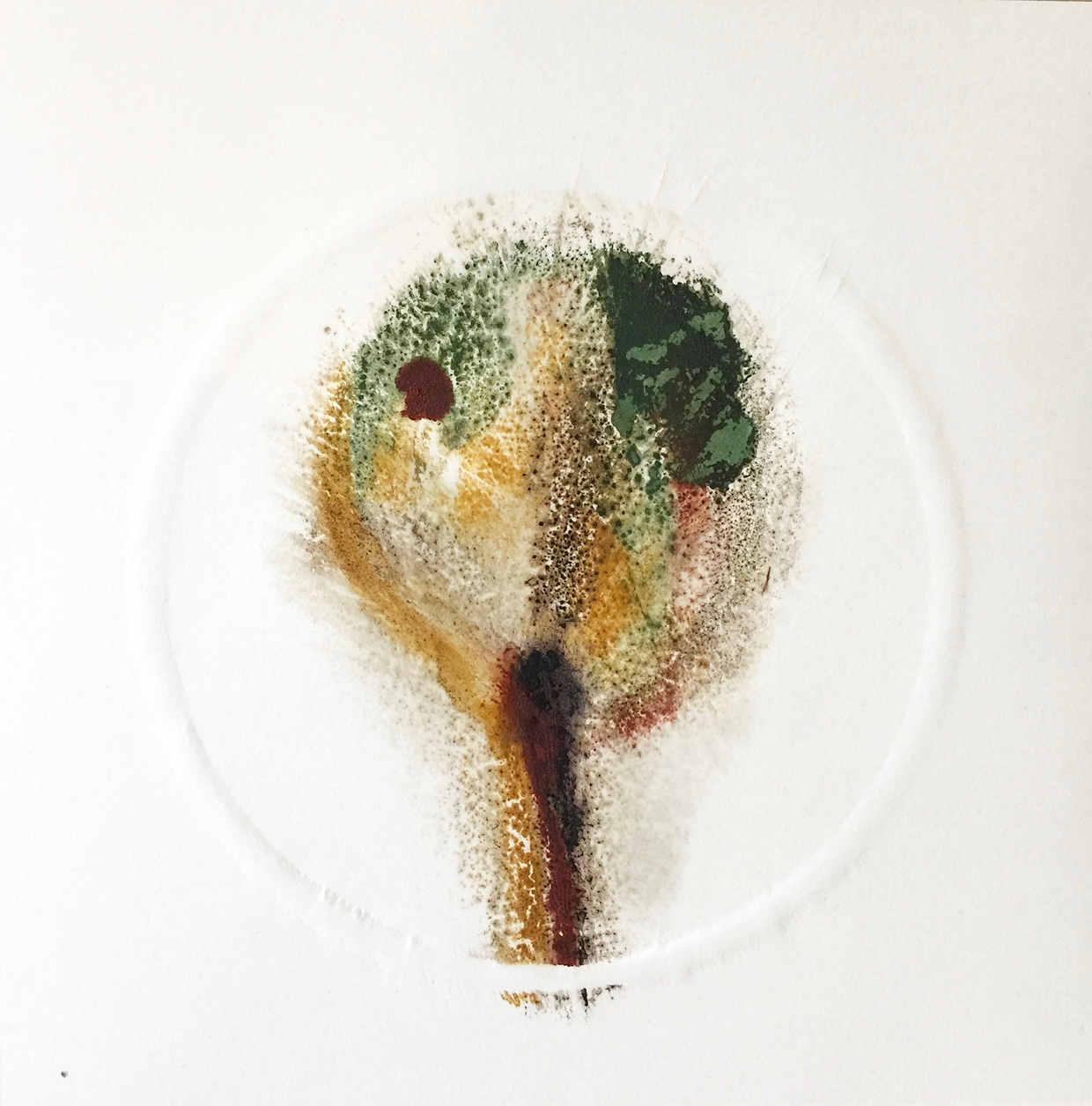 Baum1 - Papierarbeit von Eva Doelker-Heim