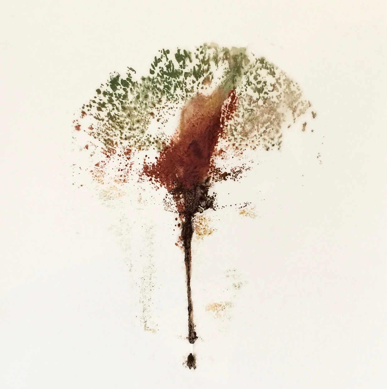 Baum3 - Papierarbeit von Eva Doelker-Heim