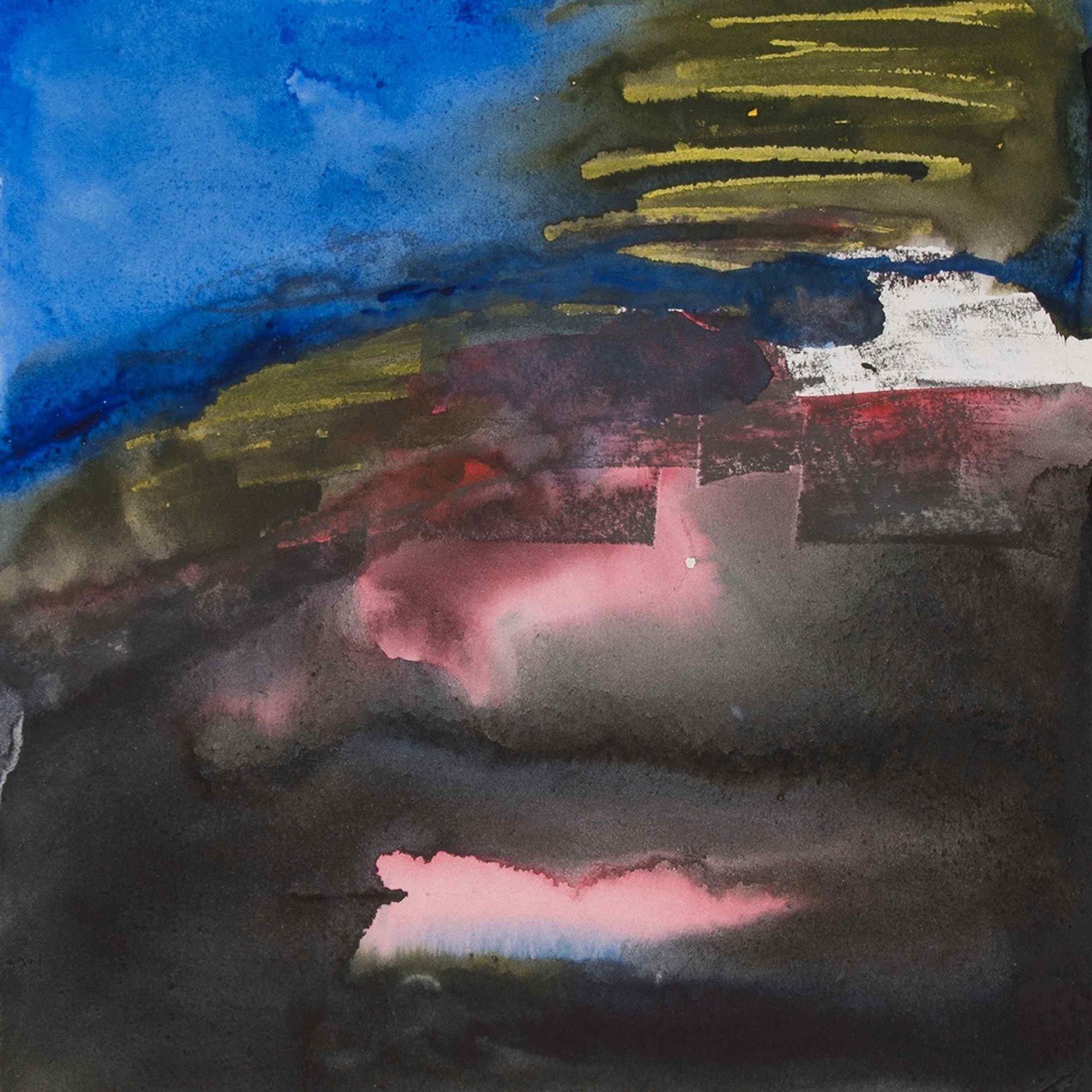 Juist 5 - Aquarell von Eva Doelker-Heim