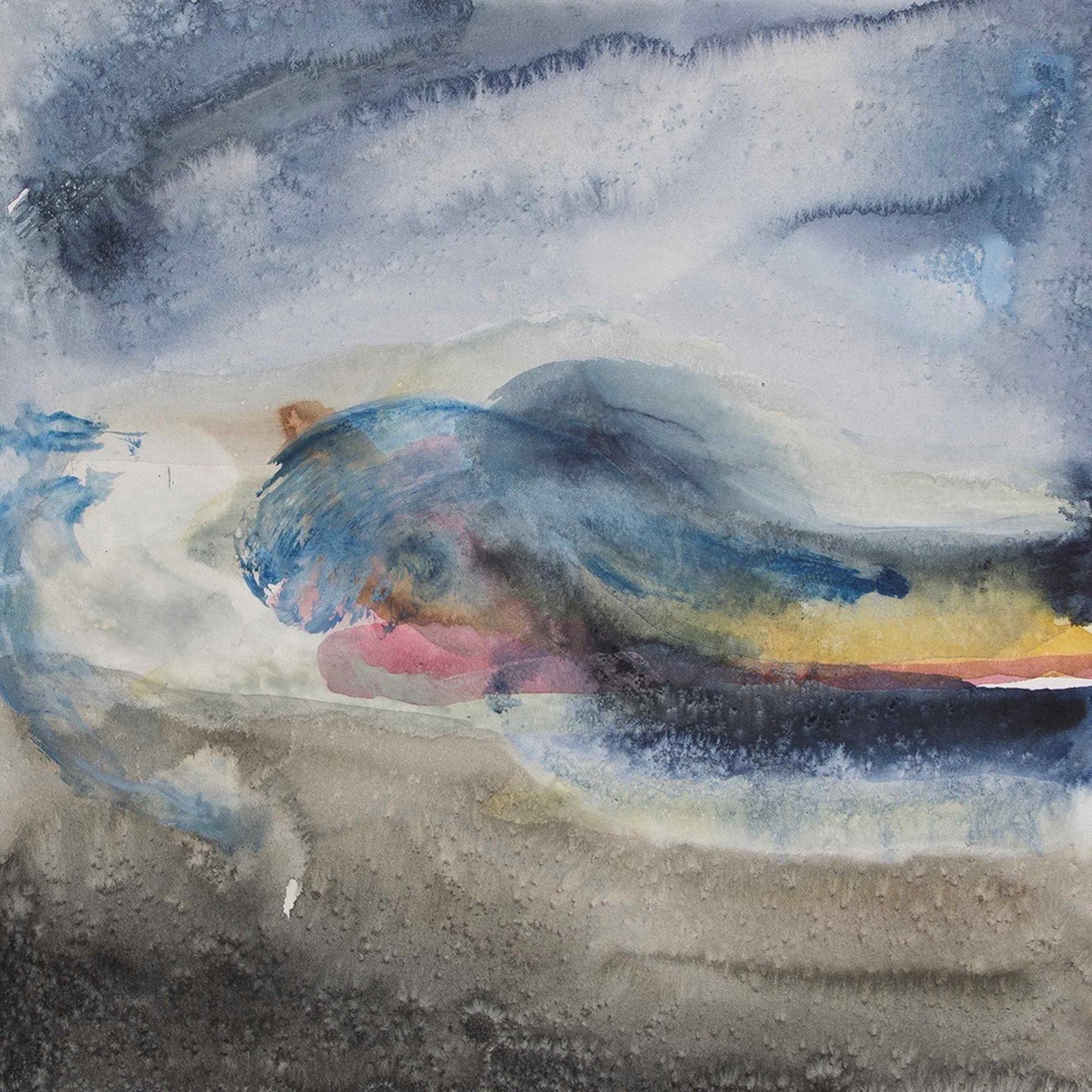 Juist 6 - Aquarell von Eva Doelker-Heim