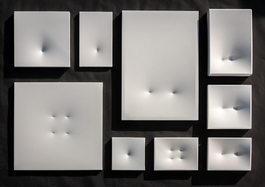 Doelker-Heim Installation skulpturen