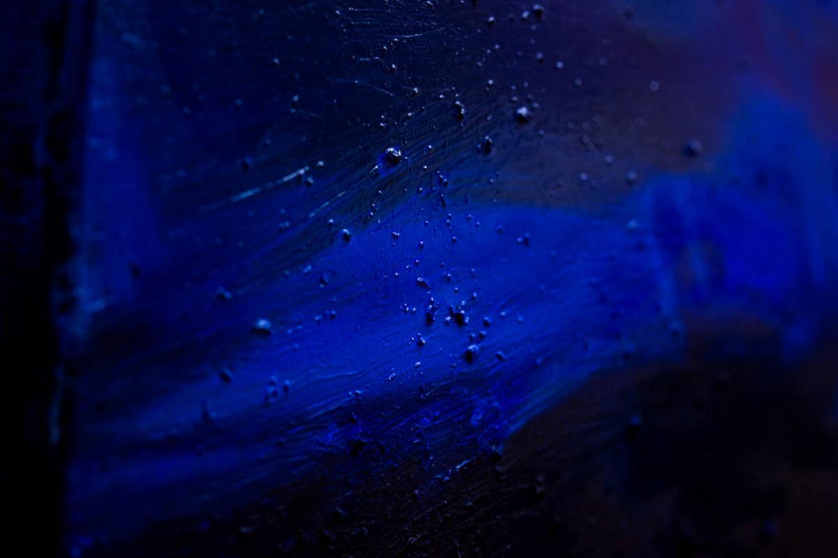 Detailaufnahme von 'Am Äußersten Meer'