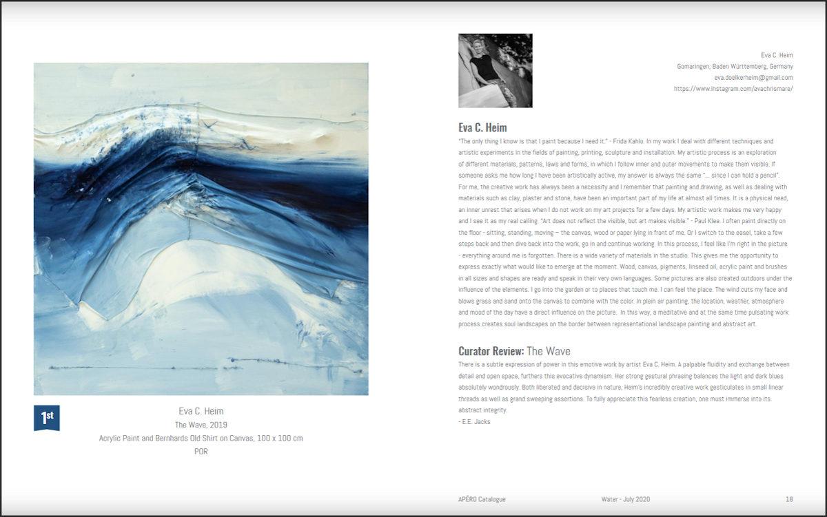 Eva Doelker-Heim im Katalog APERO - July 2020 - Water