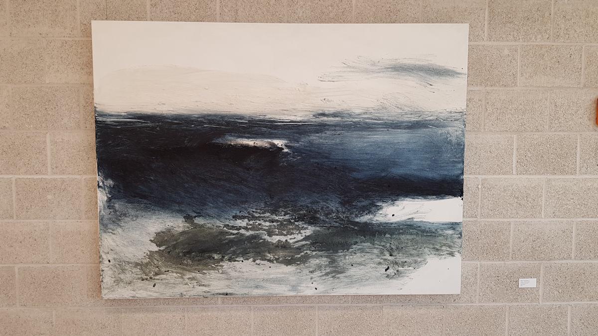 Near The Ocean Gemälde von Eva Doelker-Heim